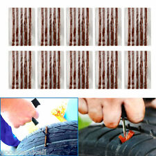 50PCS Tubeless Tire Tyre Puncture Repair Kit Strips Plug Car Van Truck Bike Bulk