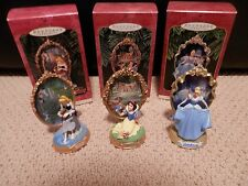 "Hallmark Ornaments Lot- Disney ""Sleeping Beauty"",""Snow White"",and ""Cinderella"""