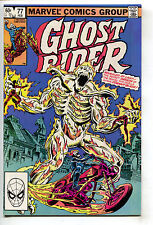 Ghost Rider 77 Marvel 1982 NM- Mephisto Origin Zarathos Bob Budiansky