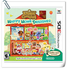 3DS Nintendo Animal Crossing: Happy Home Designer Nintendo Simulation