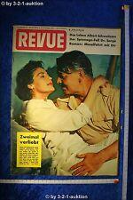 Revue Illustrierte Nr. 45 1954 6.11.54 Clark Gable Ava Gardner Dr. Sorge