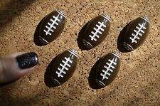Set of 5 FOOTBALL bulletin board pushpins, thumbtacks, or magnets