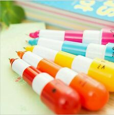 Amazing pens for kids Hot sale Cartoon Colorful Flexible Ballpoint Korean pen.