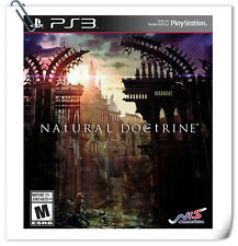 PS3 NAtURAL DOCtRINE SONY PLAYSTATION Games RPG NIS America