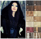 Full Head Clip in Remy Human Hair Extensions 100% Human Hair Any Colors