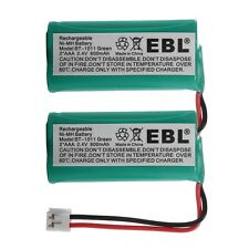 2x 800mAh Cordless Home Phone Battery for AT&T LUCENT BT18433 BT28433 DECT-4096