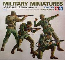 Tamiya 35013: 1/35 WWII US Army Infantry (4 Figures)