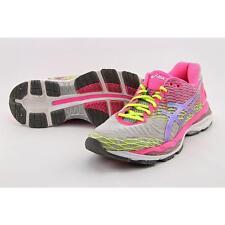 Asics Gel-Nimbus 18 Women US 8.5 Pink Running Shoe Pre Owned  1587