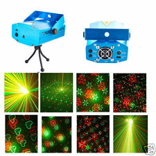 New 4 Patterns LED Stage Lighting Club DJ Party Disco Lights Music Voice Active