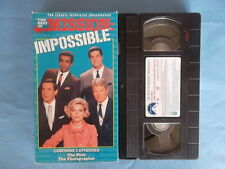 Mission: Impossible - Vol. 1 (VHS, 1996) Classic Television 2 Episodes