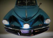 1940s Tucker Concept Show Car 1 24 Classic Vintage Carousel Blue Metal Model 18