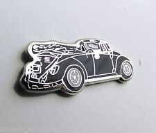 VW VOLKSWAGEN BUG BEETLE CABRIOLET AUTOMOBILE CAR LAPEL PIN BADGE 1 INCH