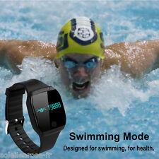 Swimming Waterproof Smart Watch Bracelet Videos Remote Sports Fitness Tracker US