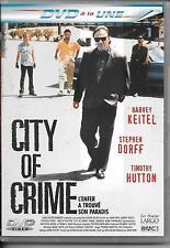 DVD ZONE 2--CITY OF CRIME--KEITEL/DORFF/HUTTON