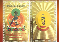 Feng Shui Medicine Buddha With Mantra Card Amulet Protect The Health A Nice Gift
