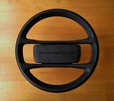Porsche 924 944 Steering Wheel - Black - Refurbished