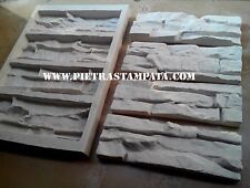 Silicone molds 4 bricks stone Form Gypsum Tiles Concrete STAMP facing Plaster,