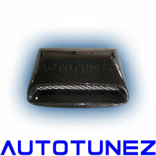 Carbon Fiber Car Roof Scoop For Subaru Impreza WRX STI 2008 2009 Black TU