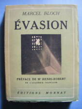 Marcel Bloch Evasion Editions Mornay 1932