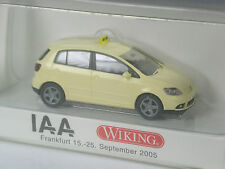 TOP: Wiking Sondermodell VW Golf Plus Taxi IAA Frankfurt 2005 in OVP