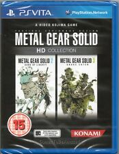 METAL GEAR SOLID: HD COLLECTION (Two Games: MGS 2 & 3) GAME PS Vita ~ NEW/SEALED