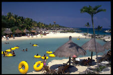 469059 Children Frolic In Paradise Cancun Mexico A4 Photo Print