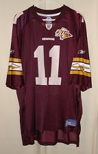 WASHINGTON REDSKINS NFL JERSEY #11 PATRICK RAMSEY 70TH ANNIVERSARY REEBOK SZ XL