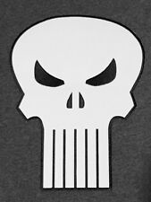 "THE PUNISHER (SKULL) Large 10"" EMBROIDERED BACK PATCH marvel comics usa military"
