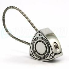 STEEL CABLE ROTOR KEYCHAIN - Rotary Engine RX7 RX8 R100 RX2 12A 13B 20B TURBO