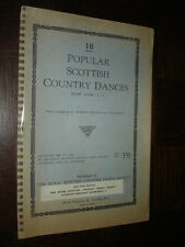POPULAR SCOTTISH COUNTRY DANCES - Dr H. Wiseman T. Wright 1952