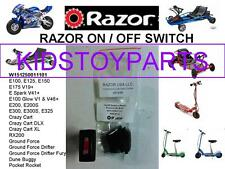 Razor On/Off Power Switch for E100 electric scooter