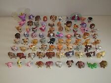 Lot 80 Littlest Pet Shop; Collie, Cocker, Spaniels, Cat Siamese and Many RARE!!