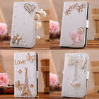 Cryatal luxury handmade Wallet case cover For Samsung galaxy Note 3 Note3 N9000