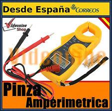 PINZA AMPERIMETRICA POLIMETRO MULTIMETRO TESTER  AMPERIMETRO DIGITAL VOLTIMETRO