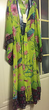 Matthew Williamson H&M Kaftan Tunika Kleid Seide caftan tunic dress silk Gr. 38
