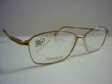 Genuine Designer Glasses Frames Eyeglasses Ladies Stepper Gold SI-3048 ref:611