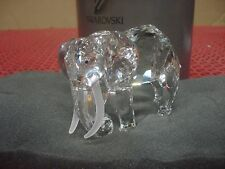 "Swarovski Crystal SCS Large Elephant ""Inspiration Africa"" Retired 1993"