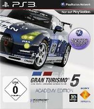 PlayStation 3 gran turismo 5 Academy Edition * impecable