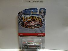 Hot Wheels Larry's Garage Silver '69 Camaro CHASE w/Real Riders Snowflake Card