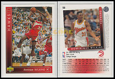 NBA UPPER DECK 1993/94 - Dominique Wilkins # 68 - Hawks - Ita/Eng - MINT