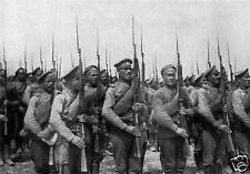 """Russian Infantry Soldiers World War 1, 6x4"""" reprint photo"""