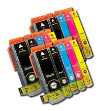 15 x Canon SCHEGGIATO Cartucce Di Inchiostro Compatible For Printer IP4700