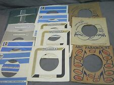 14 ABC / DUNHILL LABEL COMPANY SLEEVES FOR 45 RPM RECORDS - SOUL FUNK R&B PSYCH