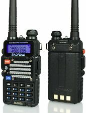 Baofeng Black BF-F9 V2+ TRI-POWER 8 Watts Two Way Dual-Band HAM Radio VHF/UHF FM