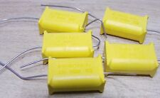 5 x Phillips 470nf 275vac X2 vintage axial lead 2222-330-90001 MKT-P 474 0.47uf