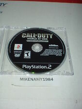 CALL OF DUTY: WORLD AT WAR - FINAL FRONTS disc only in case -  Playstation 2 PS2