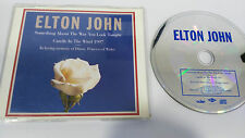 ELTON JOHN CANDLE IN THE WIND SINGLE CD 1997 IN MEMORY OF DIANA 3 TRACKS