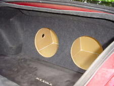 "ZEnclosures 2-12"" Subwoofer Sub Speaker Box for the 2004-2006 Nissan Maxima"