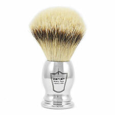 Parker CHST Large Silvertip Badger Hair Shaving Brush with Chrome Plated Handle