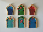 MAGICAL TINY FAIRY FRIENDS FAIRY DOORS - RESIN - CHOICE OF SIX - NEW & BOXED